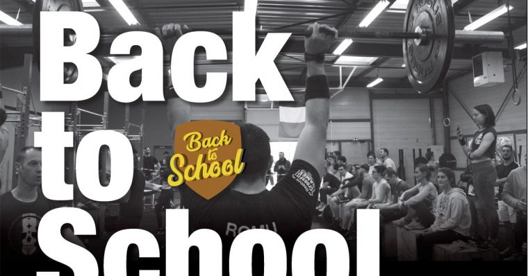 Compétition CrossFit Back to School